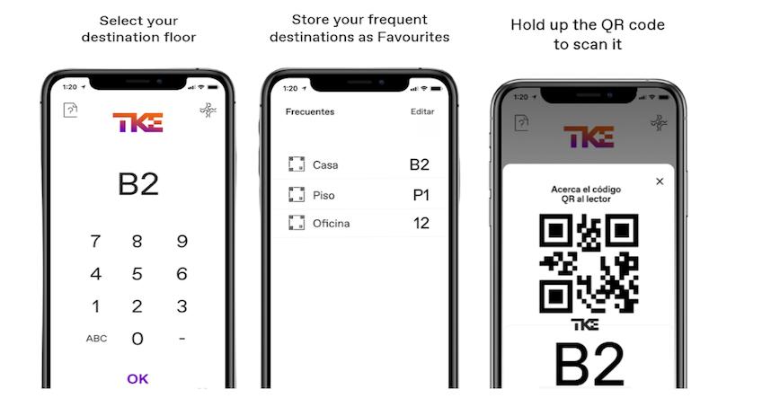 App elevator pass creada para thyssenkrupp pot Gooapps